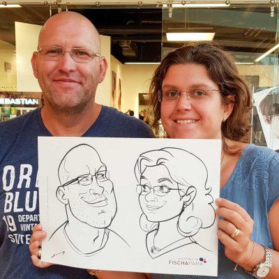 Karikaturist Schnellzeichner für Messe Tagung Konferenz